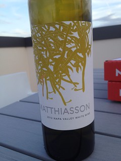 2012 matthiason napa valley white wine