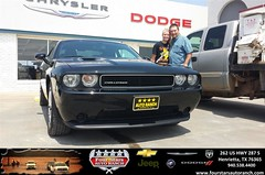 Congratulations to Todd and Abby Anderson on your #Dodge #Challenger purchase from Tracey Frerich at Four Stars Auto Ranch! #NewCar