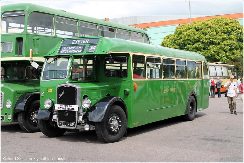 Exeter Bus Rally KLJ749