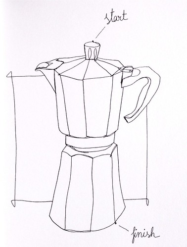 coffe maker for Sketchbook Skool
