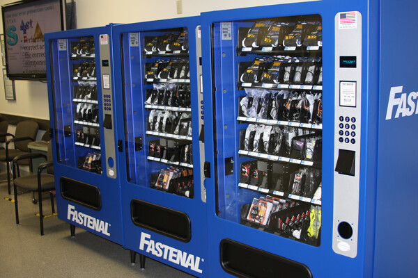 Fastenal now has 46,855 vending machines on customer sites