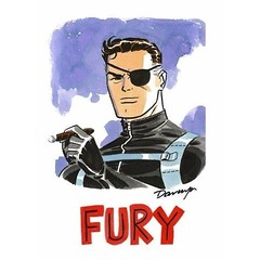 Nick Fury, by Darwyn Cooke. #comicbooks
