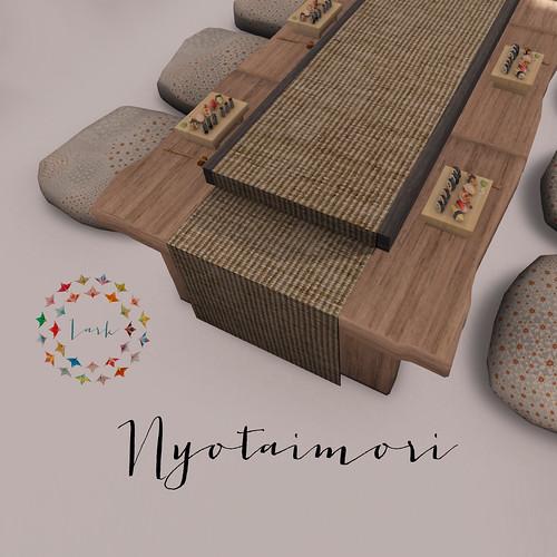 Lark - Nyotaimori (body sushi)
