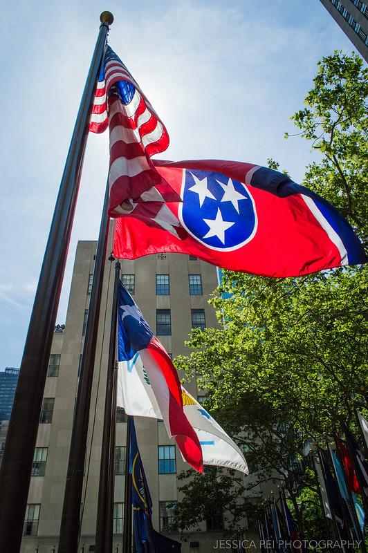 Rockefeller Center World Flags