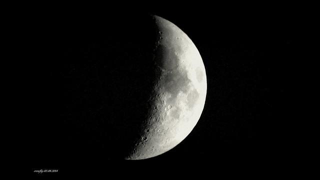 Photo:moon over vienna Austria By Harrison Crowfly Vienna