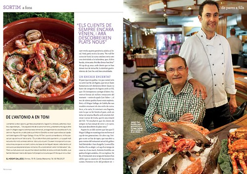 El Hogar Gallego a la revista Cuina