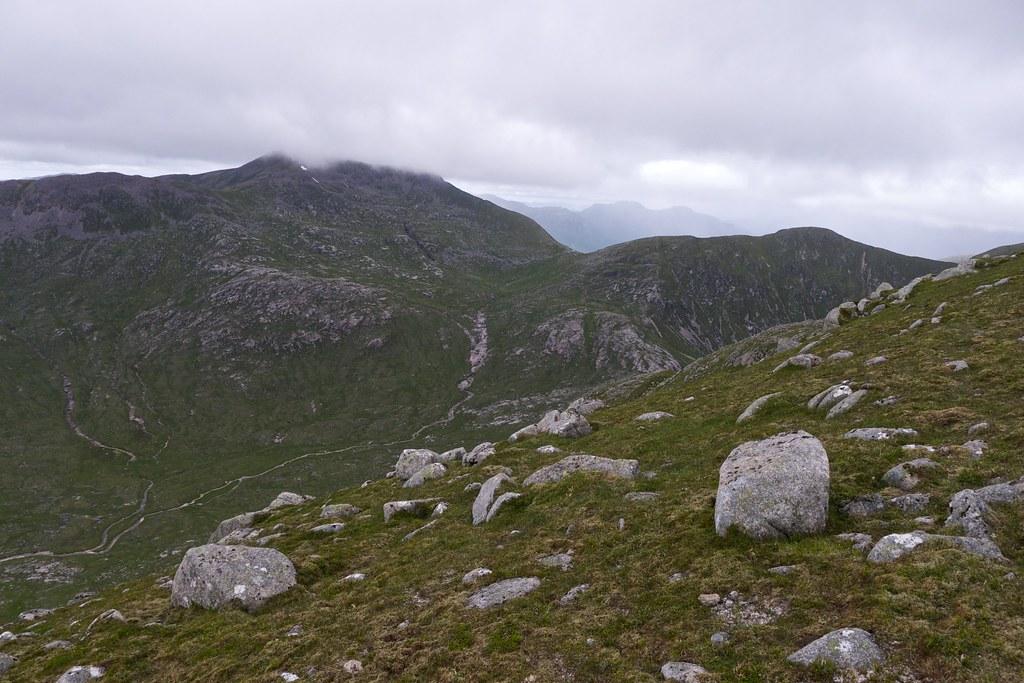 Ben Starav from Beinn nan Aighenan