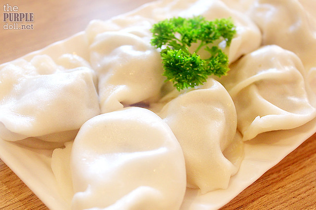 Minced Pork Dumpling with String Bean