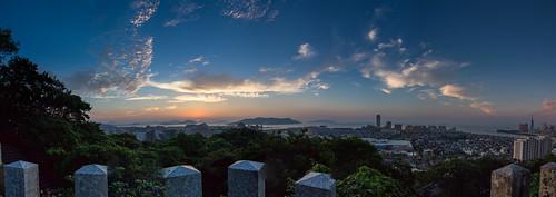 travel sunset panorama japan landscape fukuoka magichour kyushu 九州 福岡 hakata 博多 fukuokaprefecture