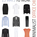 23 Ways to Wear - Minimalist Office Chic Wardrobe