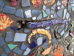 Nimitz Elementary School mosaic detail #1