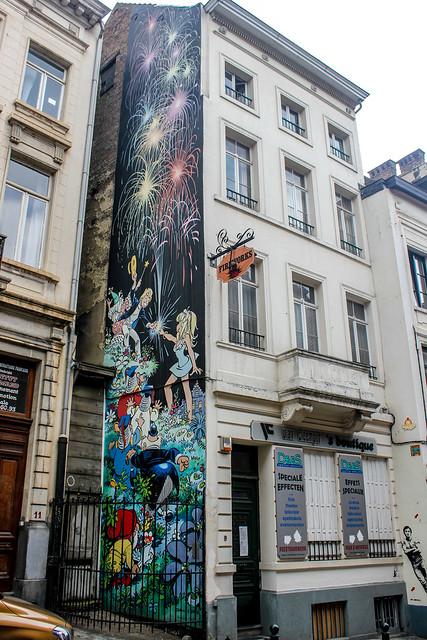Olivier Rameau - Dany (junio de 1997). Rue du Chêne/Eikstraat 9