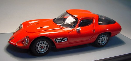 GLP 119 A Alfa Abarth Colani 1300 red 1959 .