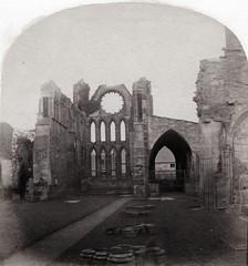 G.W. Wilson - Choir, Elgin Cathedral, ca 1862