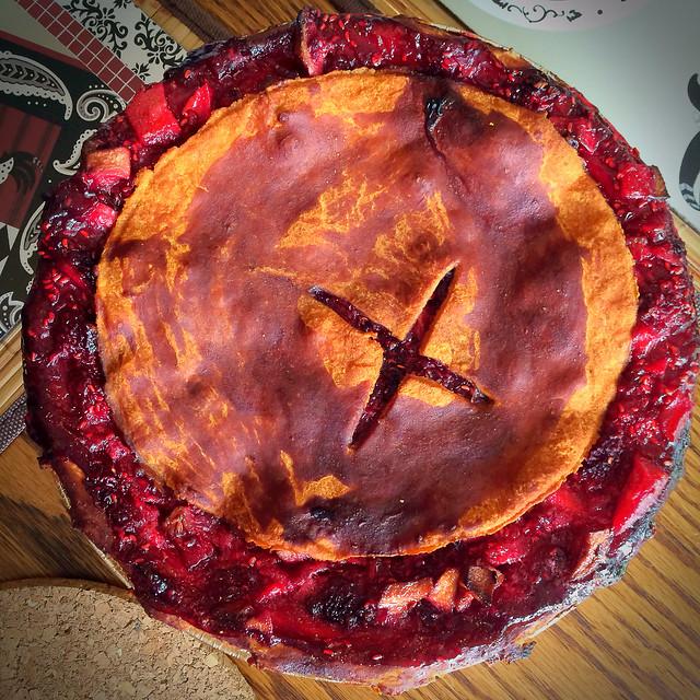 Berry pie Norfolk County Ontario