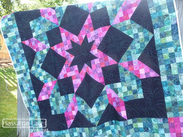 Gitte Hopkin's gorgeous Atlantic Avenue quilt!