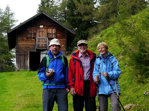 Trio auf der Karreralm   /   Trio at Karrer alp