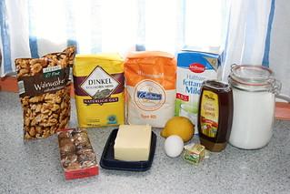 Trenza Semiintegral de nueces, higos y miel