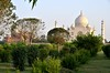 Agra - Taj Mahal & Guesthouse From Mehtab Bagh (Moonlight Garden)