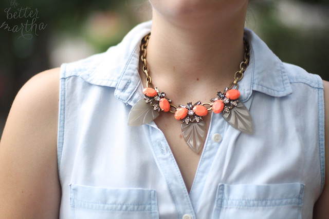 Styled with Bridet necklace