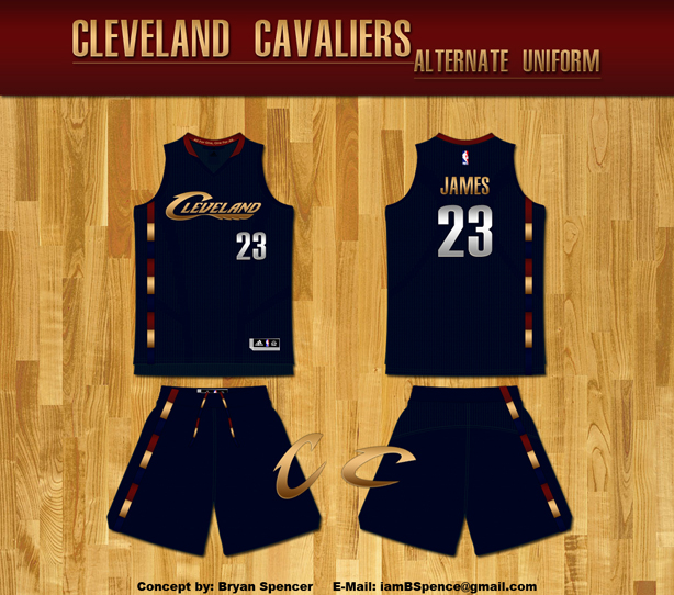 reputable site 0a654 20620 Uni Watch: Cleveland Cavaliers redesign results