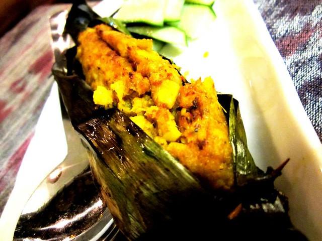 Payung Cafe, Sibu otak-otak
