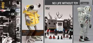 2014第11屆台北國際玩具創作大展 票券設計 – COOLRAIN STUDIO & KEA(VIP貴賓券)