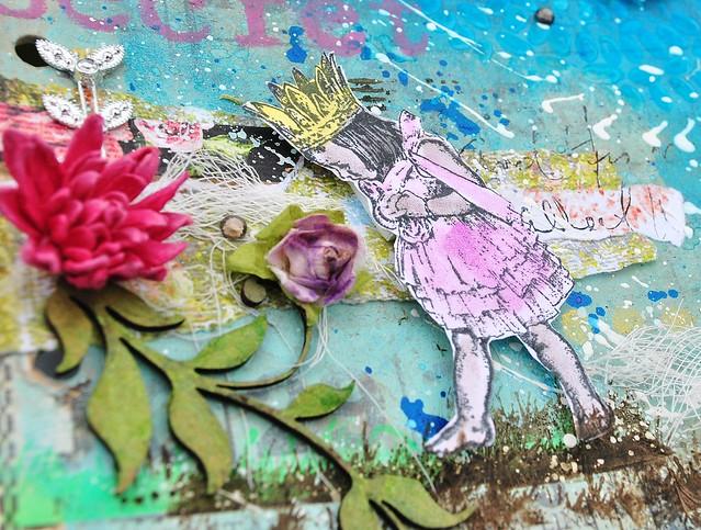 flower swirl, girl, SG, VLVS
