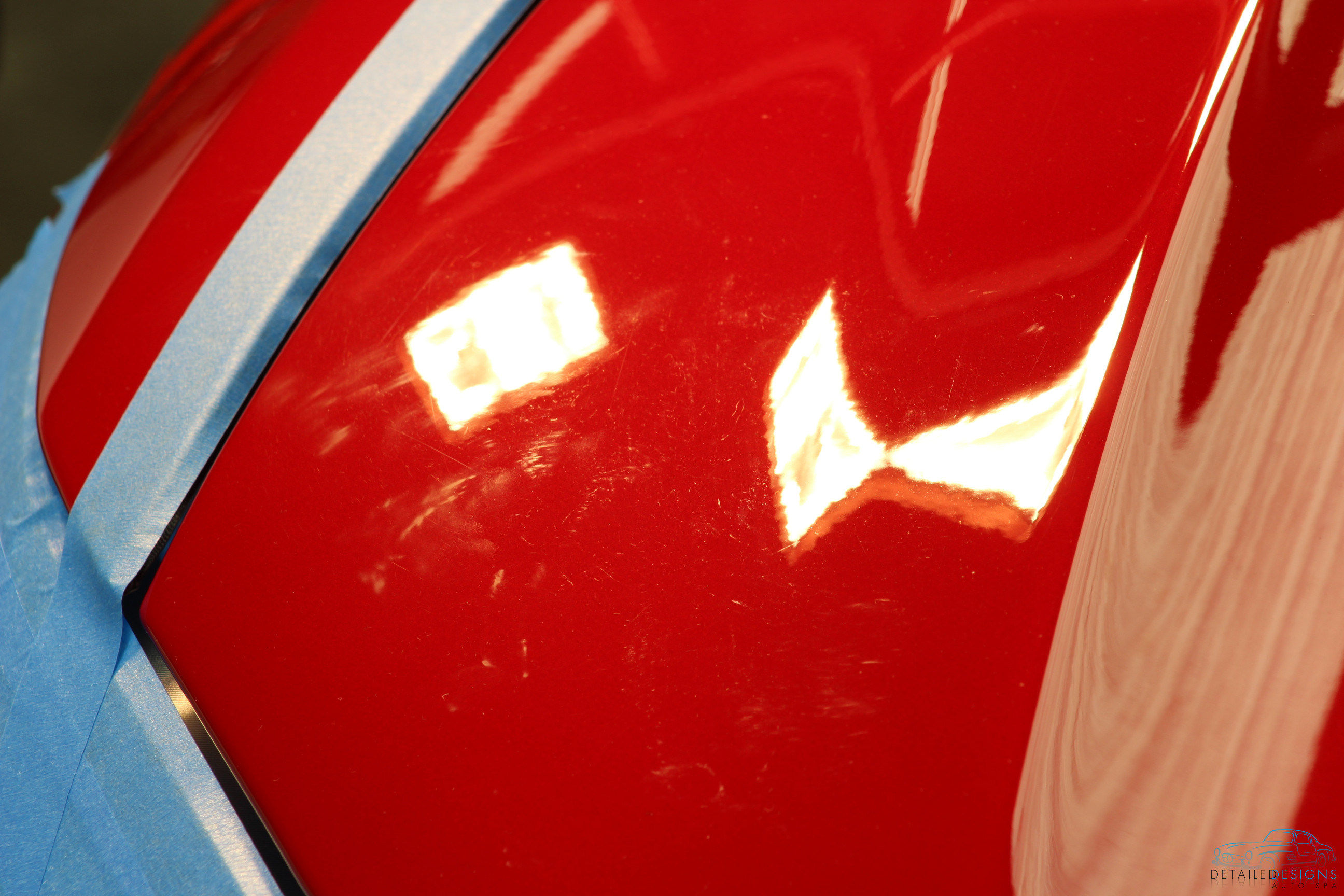Factory paint defects on a 6-figure car