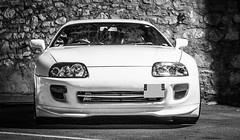 automobile, automotive exterior, wheel, vehicle, performance car, automotive design, bumper, toyota supra, land vehicle, sports car,