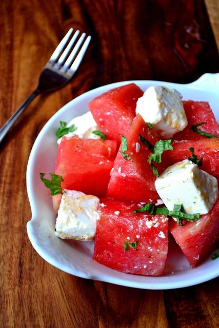Watermelon and Feta Salad Recipe