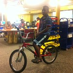 Omar and his bike