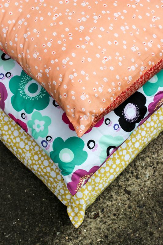Geometric Bliss Pillows