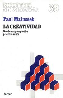 La creatividad - Paul Matussek