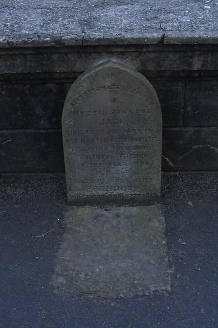 Jack's Gravestone