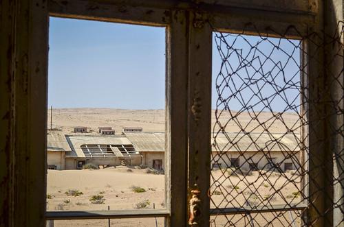 Kolmanskop ghost mining town, Namibia