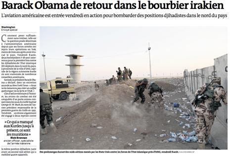 14h09 LMonde Obama en el caos irakí