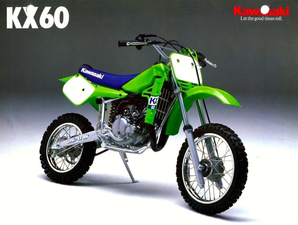 1988 Kawasaki KX60 Brochure Page 1