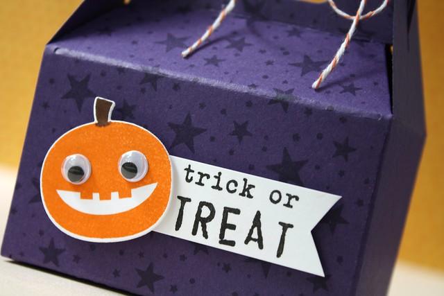 PTI~Happy Spooky Halloween, Gable Box die