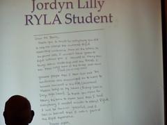 Letter From Jordyn