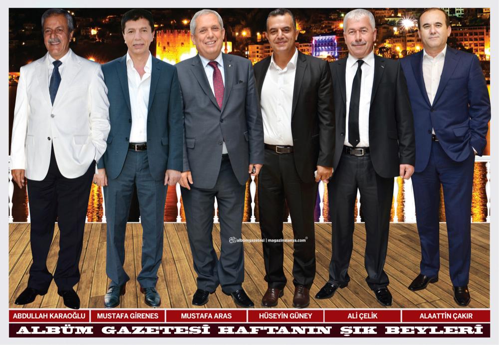 Abdullah Karaoğlu, Mustafa Girenes, Mustafa Aras, Hüseyin Güney, Ali Çelik, Alaattin Çakır