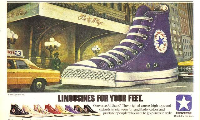 Converse Chuck Taylor's ad 1985