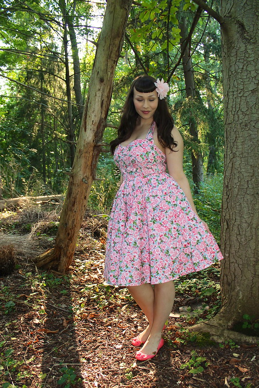 Bernie Dexter cherry blossom dress