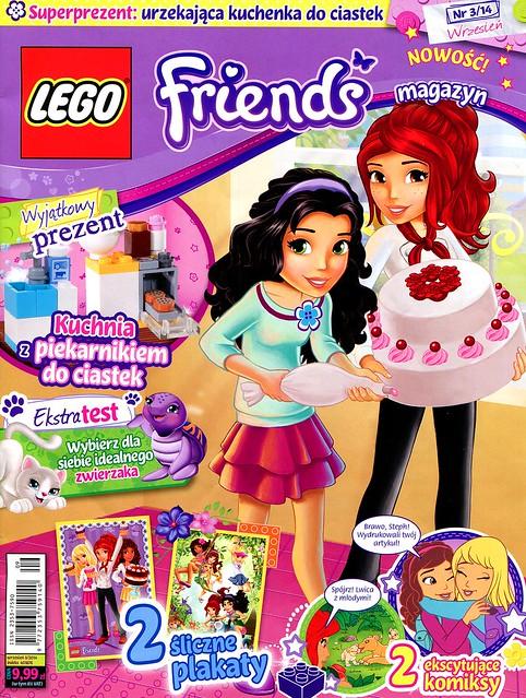 LEGO Friends Magazyn 2014-03-01