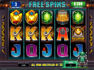 RoboJack Free Spins Feature