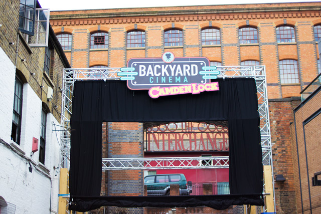 Backyard Cinema Camden Lock