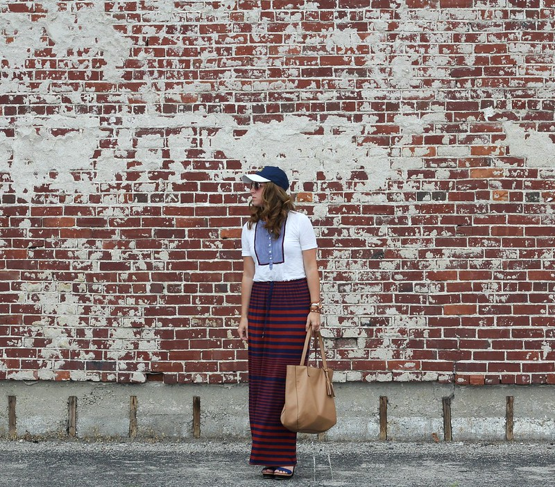 how to refashion a sundress via Kristina J blog
