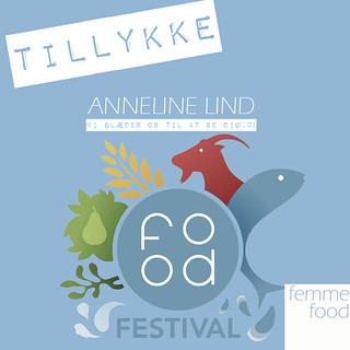 Den heldige vinder af Food Festival-billetter