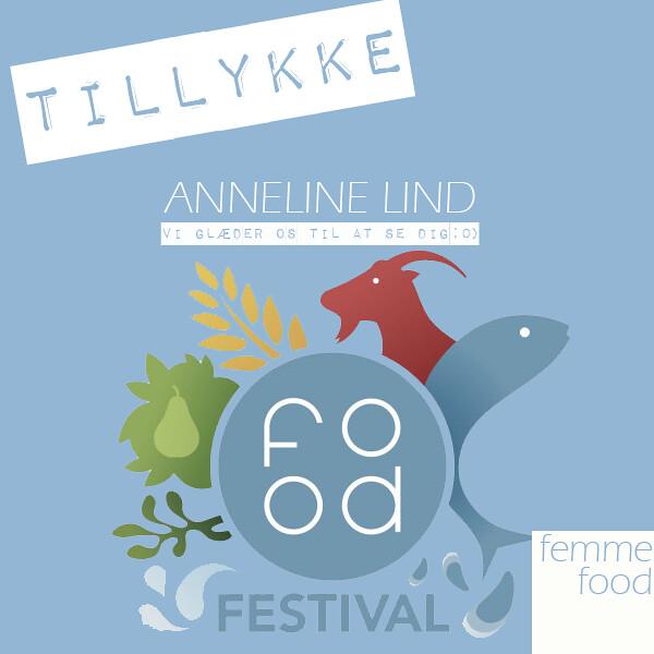 Vinder af Food Festival-billetter
