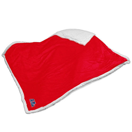 Ole Miss Rebels NCAA Sherpa Blanket